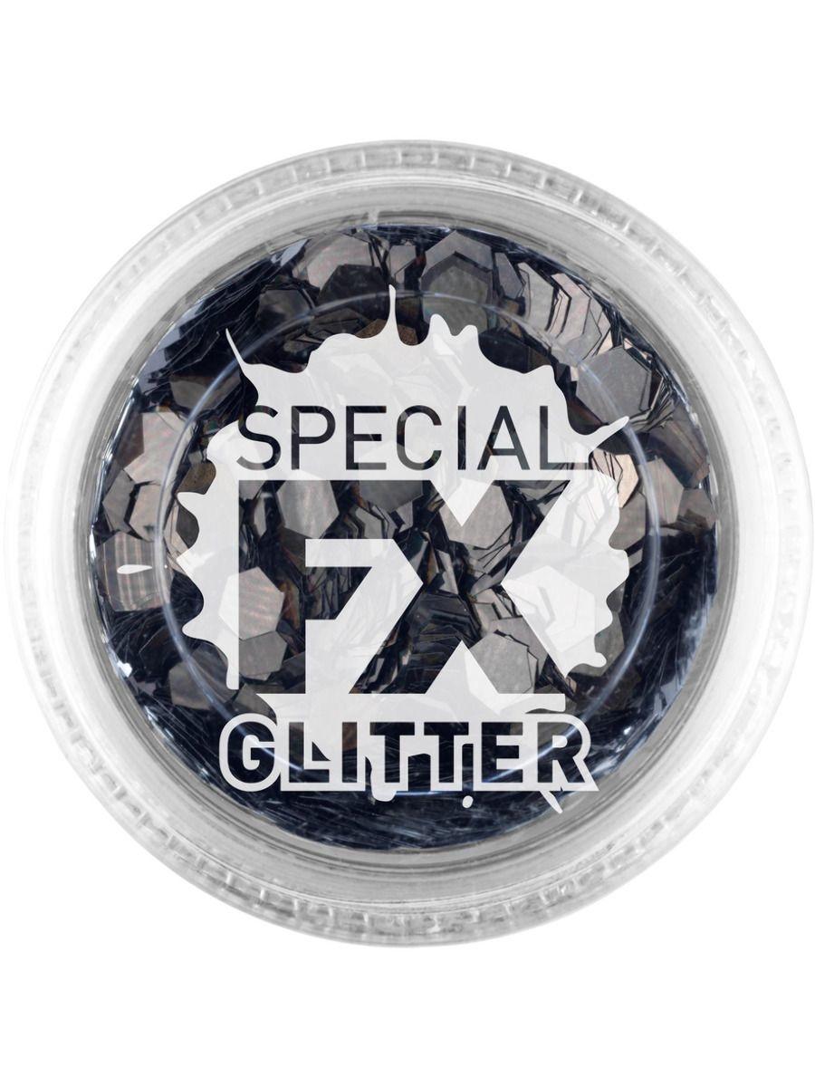 Losse Glitters   Zwart   Special FX