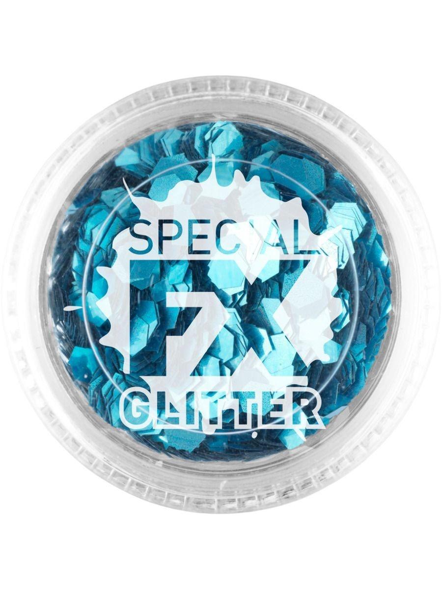 Losse Glitters   Blauw   Special FX