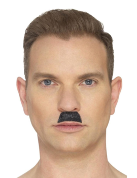 Moustache/ Snor Brossé | Zwart