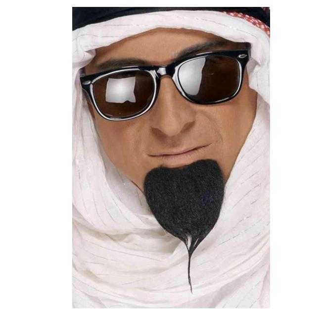 Baardje/ Sik Sheikh | Zwart