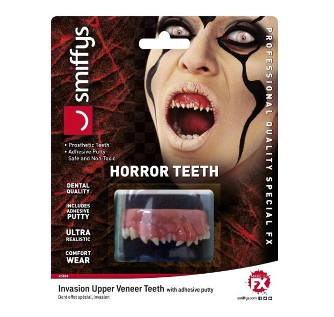 Horror Tanden   Veneer Teeths