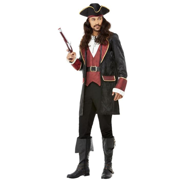 Piraat/ Kapitein  Swashbuckler | Herenkostuum