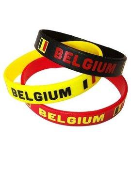 Armbandjes Belgische Kleuren | 3 Stuks