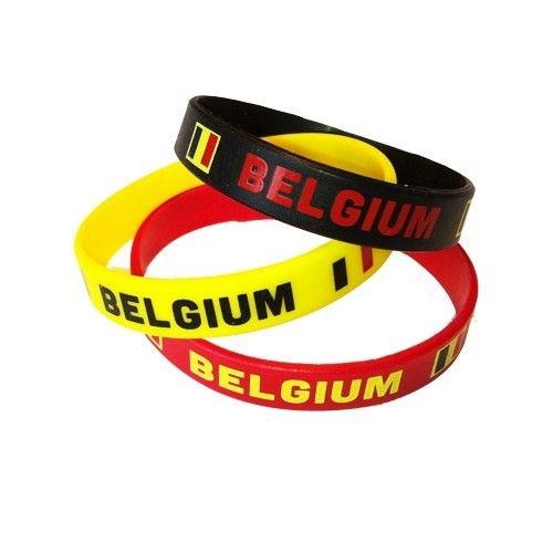Armbandjes Belgische Kleuren   3 Stuks