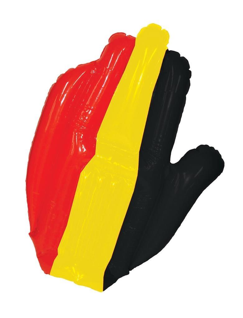 Opblaasbare Hand Belgische Kleuren   België