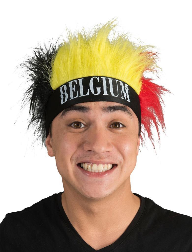 België Hoofdband | Bandana | Belgische Kleuren