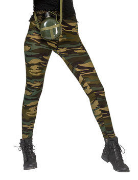 Legging Leger/ Camouflage | One Size