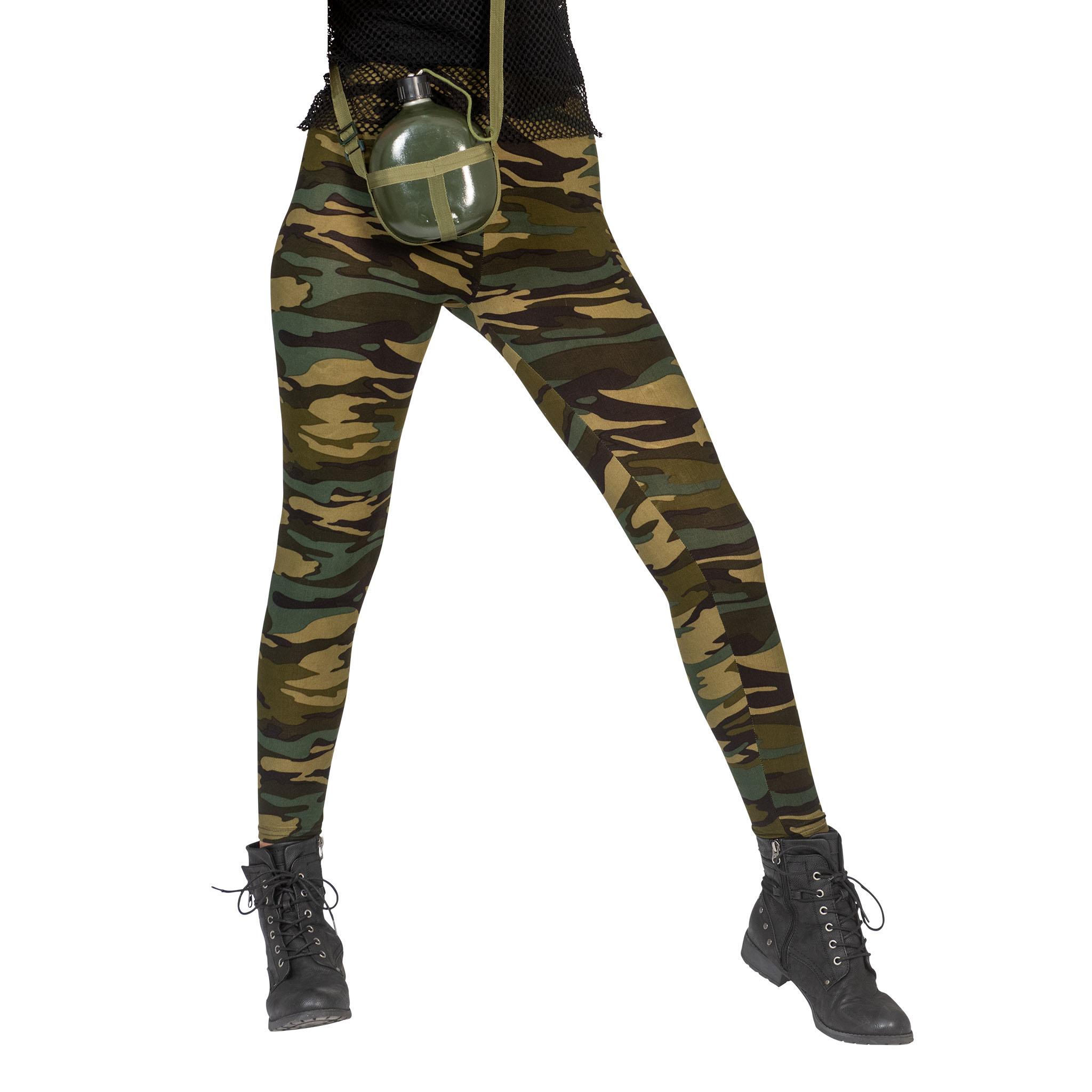 Legging Leger/ Camouflage   One Size