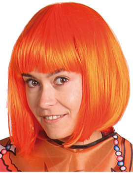 Pruik Bob | Oranje