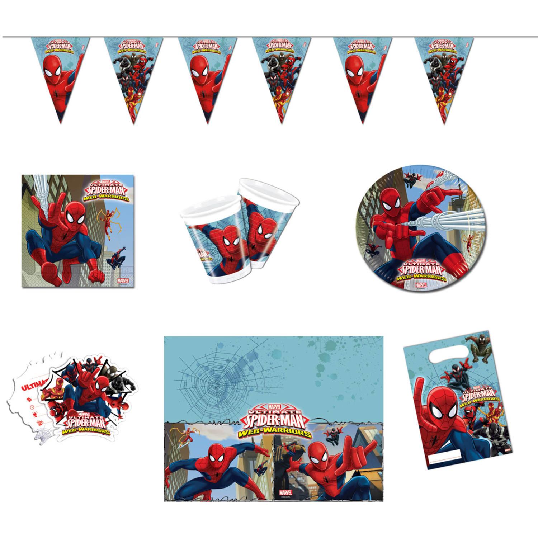 Partyset Spider Man Marvel | Feestpakket
