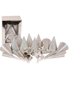Partybox Silver/zilver 10/Personen