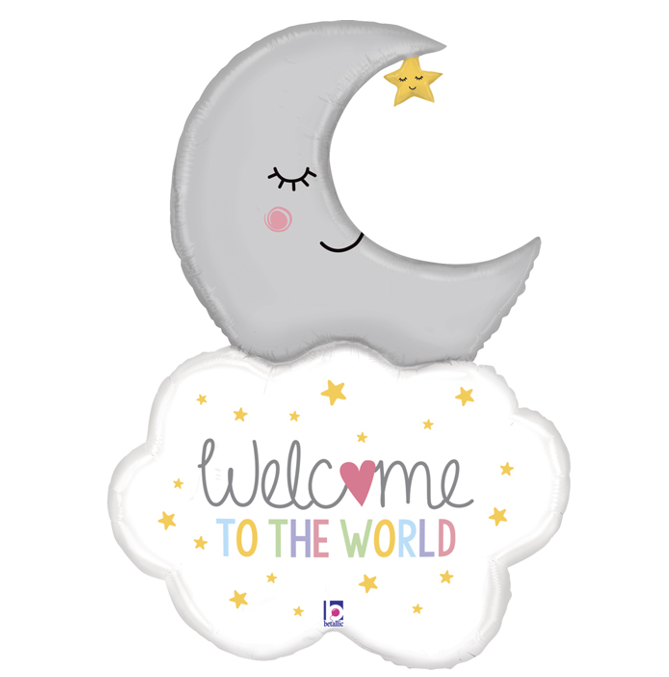 Folieballon Baby  | Welcome To The World | 42inch