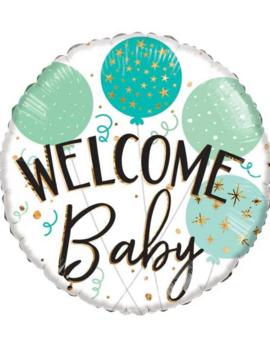 Folieballon Baby  | Welcome Baby | 18inch