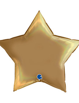 Folieballon Star/ Ster | 18inch Goud