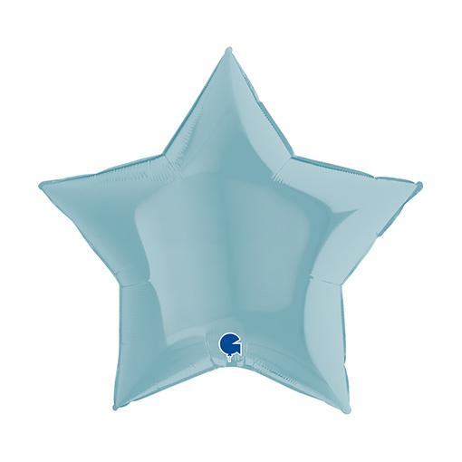 Folieballon Star/ Ster   18inch Lichtblauw