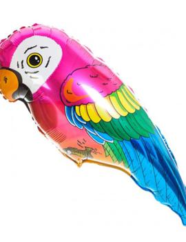 Papegaai Folieballon   81cm