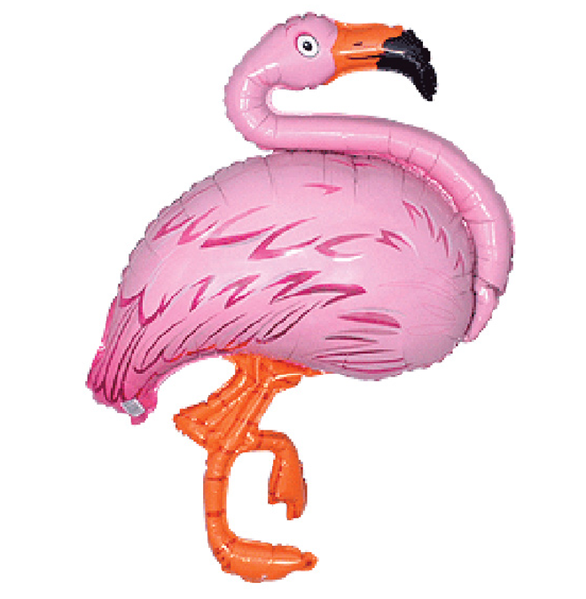 Flamingo  Folieballon   81cm