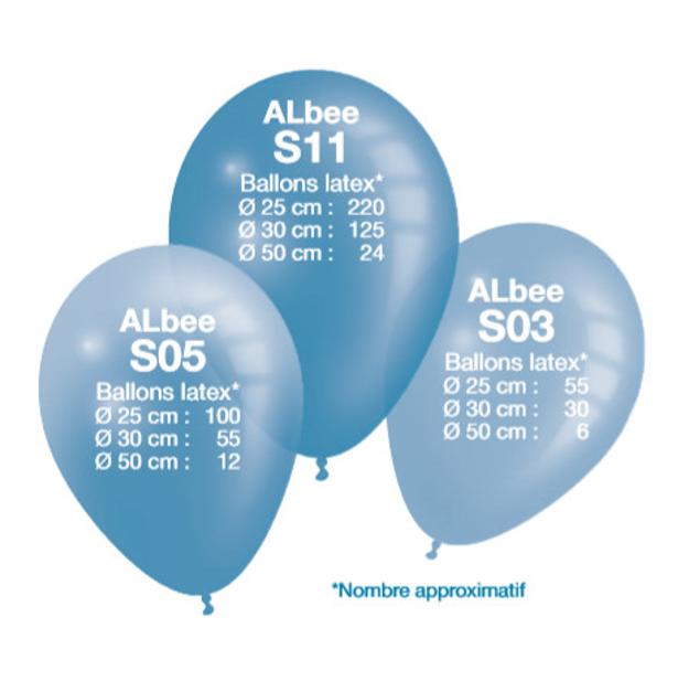 Huur Heliumtank 55-100 Ballonnen   5L