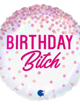 Happy Birthday  Bitch Folieballon | 45cm