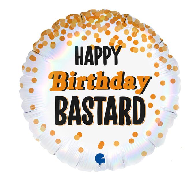 Happy Birthday  Bastard Folieballon | 45cm