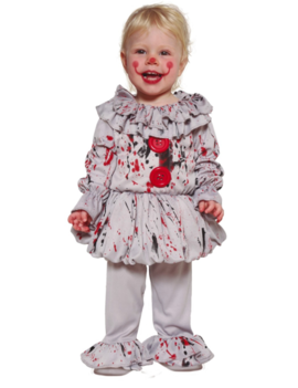 Scary Clown  Peuter/Baby   Kinderkostuum