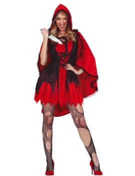 Scary Roodkapje Kostuum | Halloween