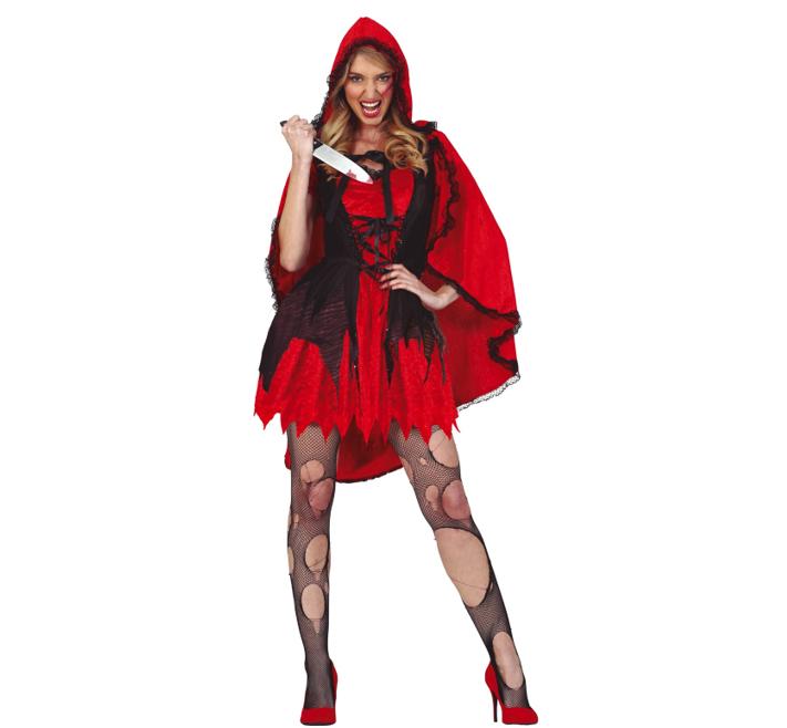 Scary Roodkapje Kostuum   Halloween