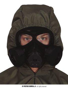 Gasmasker Zwart | Plastiek Masker