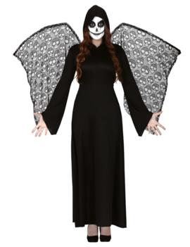 Skeleton Dame Met Vleugels | Halloween