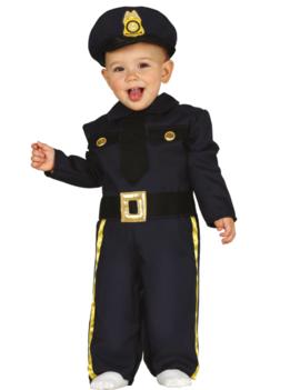 Politie Denver Peuter/Baby   Kinderkostuum