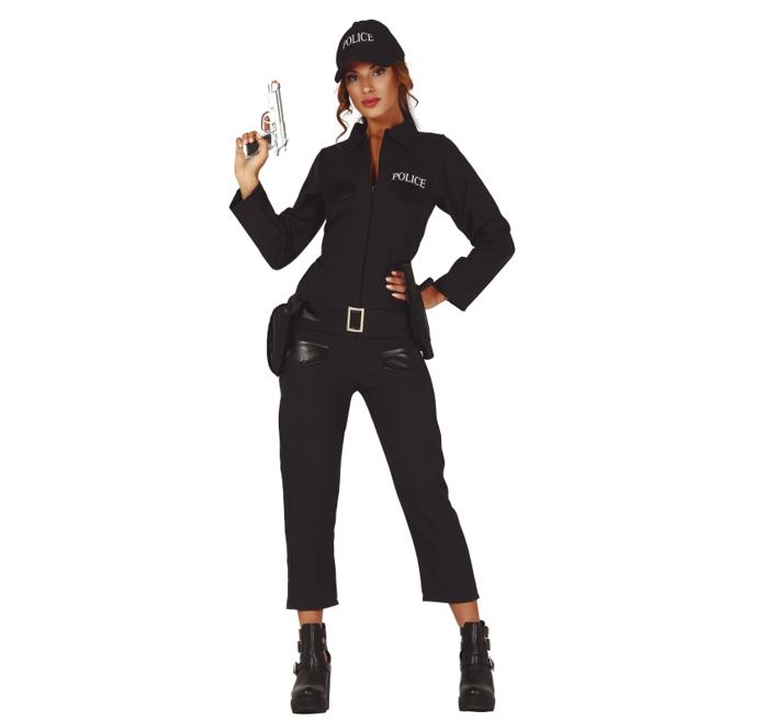 Politievrouw Jumpsuit | Dameskostuum