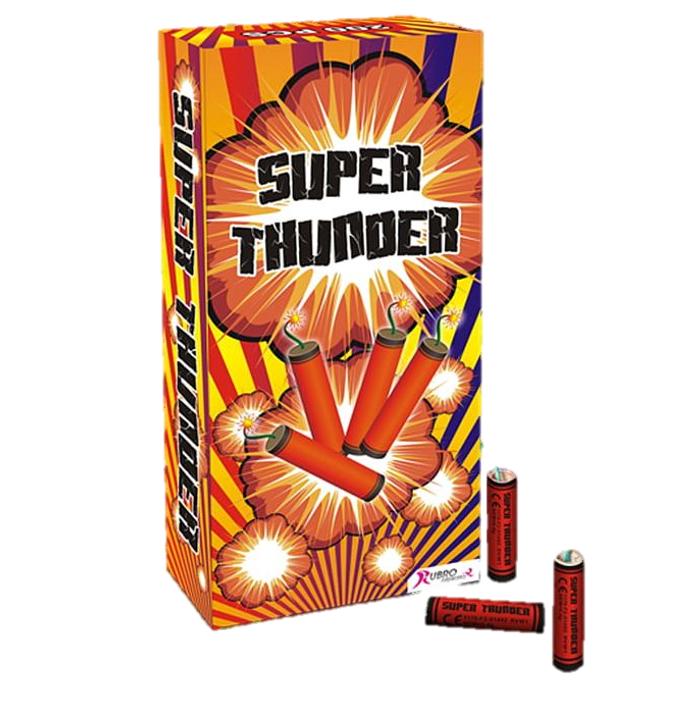 Super Thunder 100 Stuks | Knalvuurwerk
