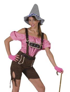 Tiroler Tina Short | Dameskostuum | Lederhosen