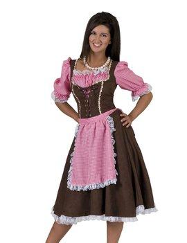 Tiroler Rosa Klassiek | Dameskostuum