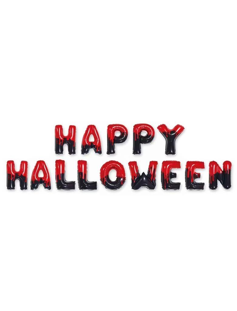 """Follieballonnen """"Happy Halloween""""   +/-40cm"""