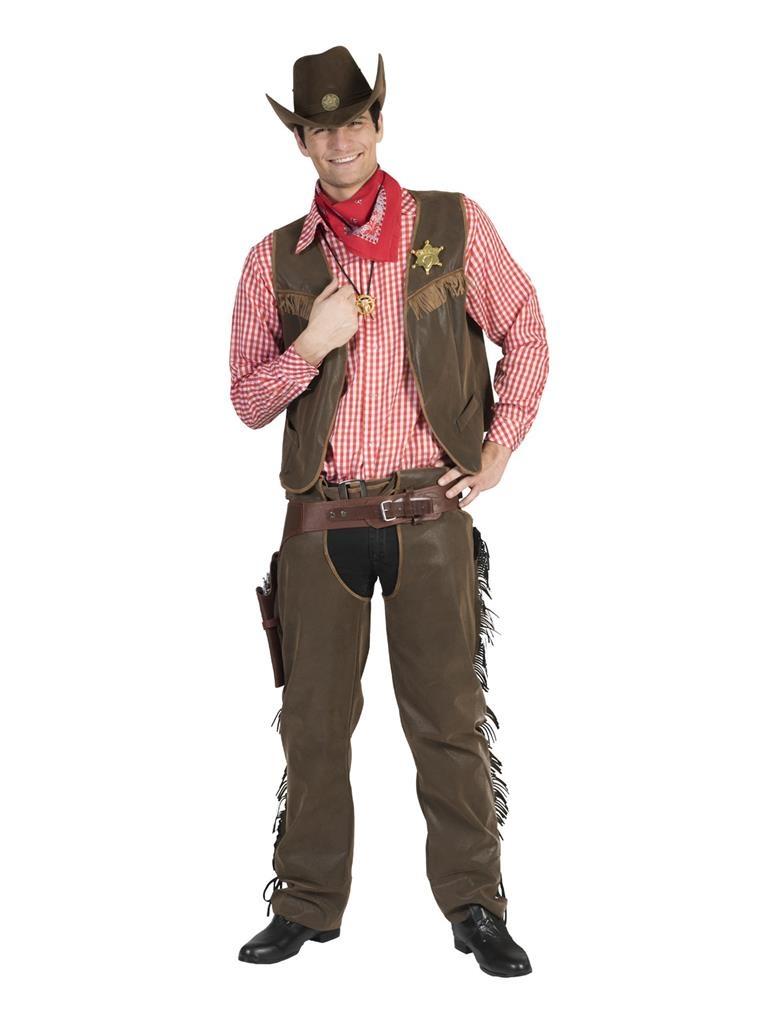 Cowboy Wild West Wade   Herenkostuum