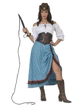 Cowboy Lady Bleu Bird   Dameskostuum