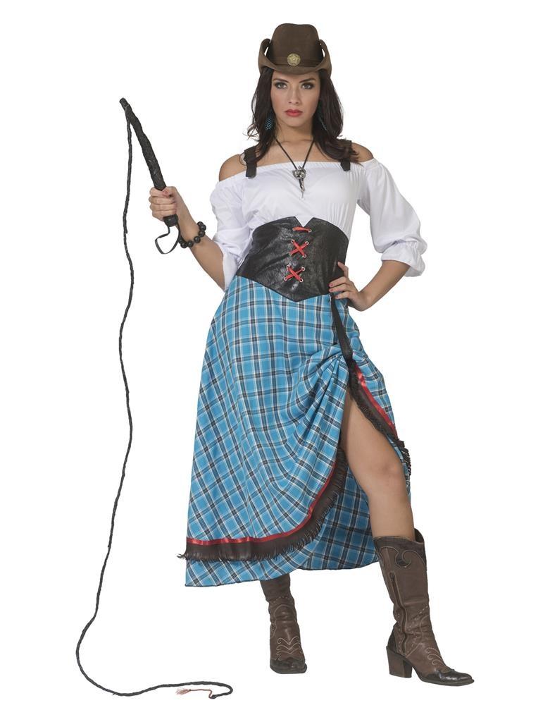 Cowboy Lady Bleu Bird | Dameskostuum