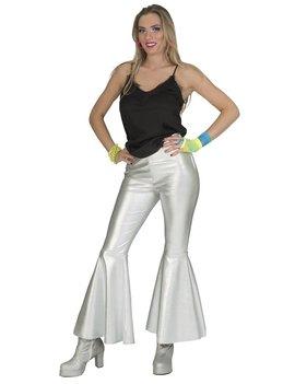 Disco Fever Pants Zilver | Dameskostuum