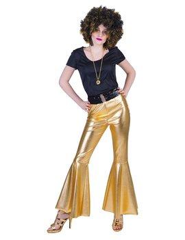 Disco Fever Pants Goud | Dameskostuum