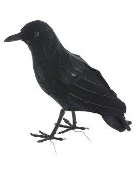 Kraai Zwart 23cm   Nep