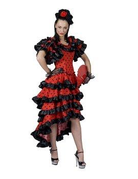 Spaanse Allesandra   Dameskostuum
