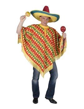 Poncho Fiesta   Herenkostuum   One Size