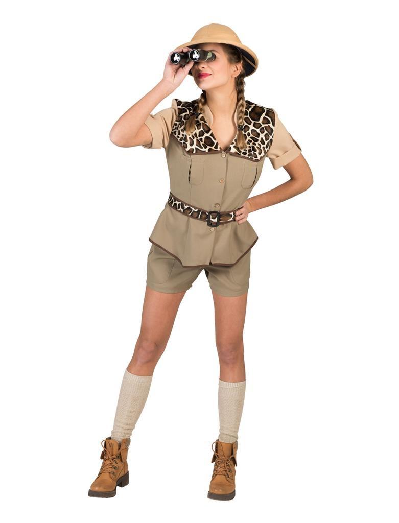 Safari Dame   Dameskostuum