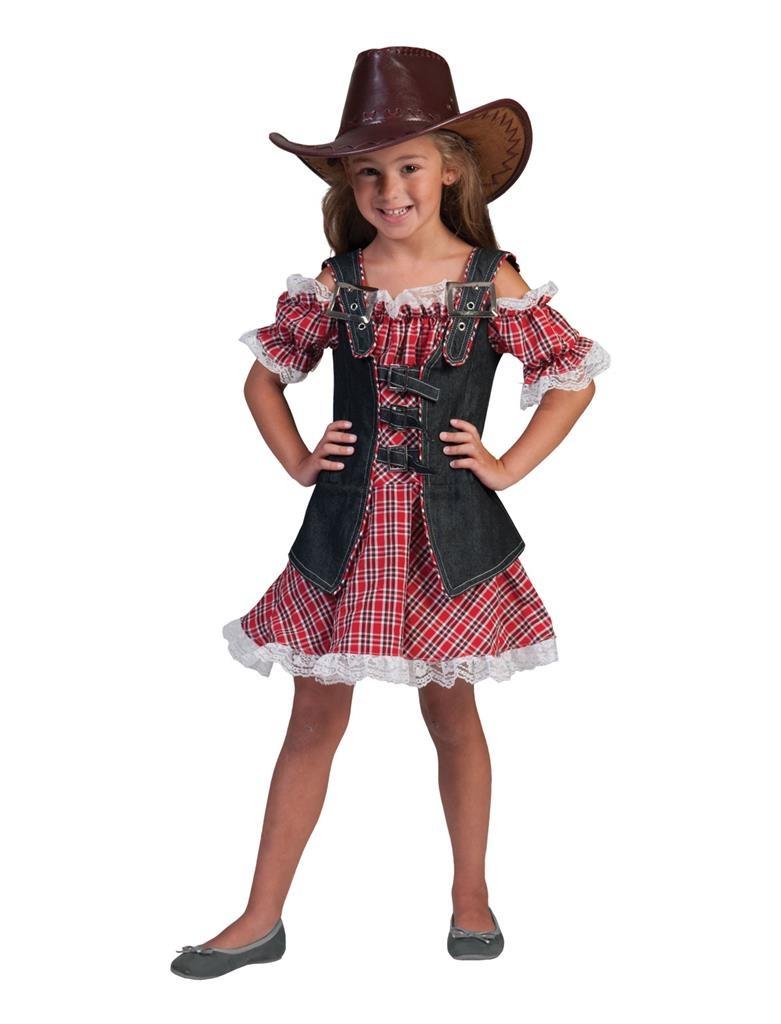 Denim Ranger Cowboy Meisje   Kinderkostuum