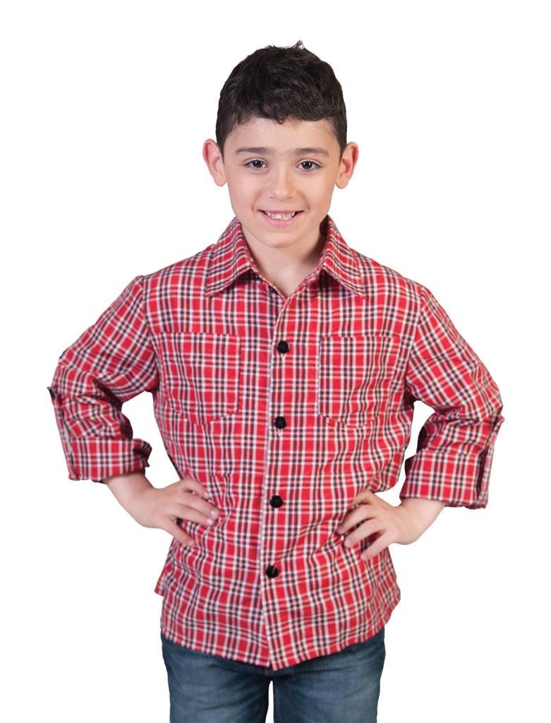 Cowboy Hemd Geruit | Kinderkostuum