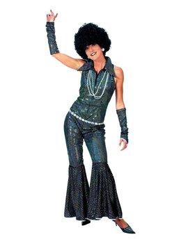 Boogie Queen Glitter | Dameskostuum