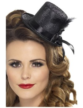 Mini Top Hat | Zwart | Burlesque