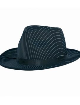Gangster hoedje | Gestreept  | Al Capone