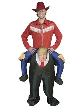 Opblaaskostuum President | Donald Trump | Herenkostuum